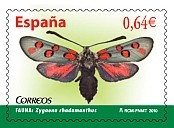 Spanish moths commemorated in newly issued stamps